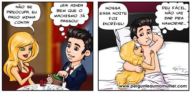 tirinha_machismo_Pergunte a uma Mulher