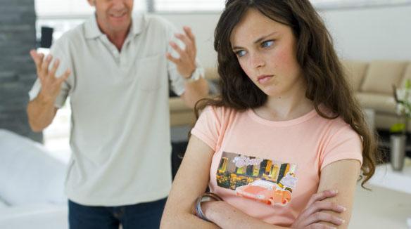 Ciúmes da filha em relação ao pai