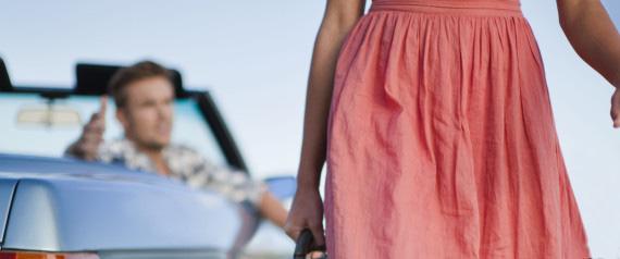 Como superar um pé na bunda da mulher amada?