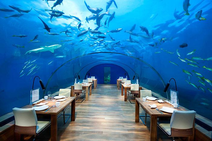 Restaurante submarino Ithaa