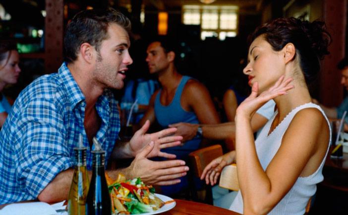 Como fazer a mulher não brigar em público