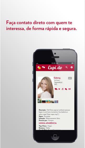Cupi.do - app te ajuda a conhecer caras legais