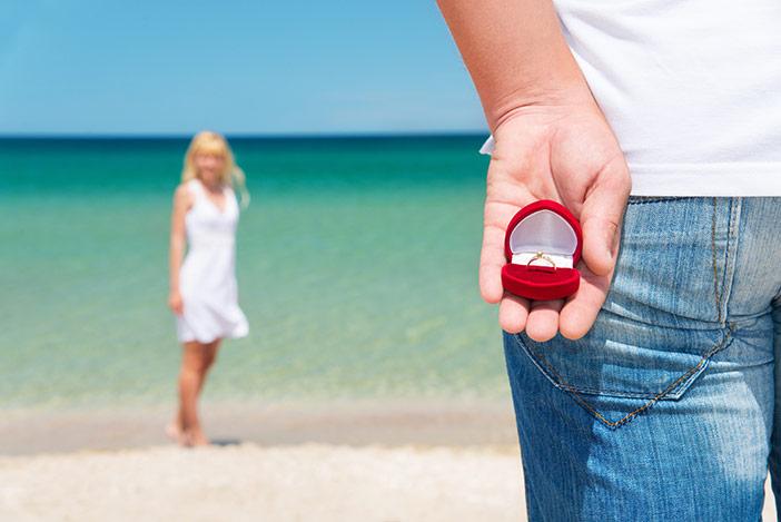 Ele me pediu em casamento: aceito ou não aceito?