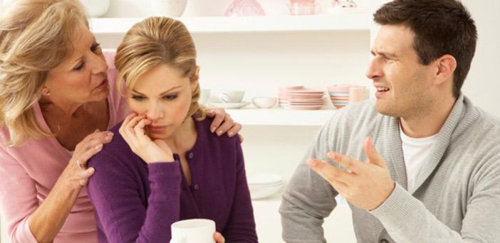 Minha esposa não desgruda da mãe e conta todos os nossos problemas pra ela!
