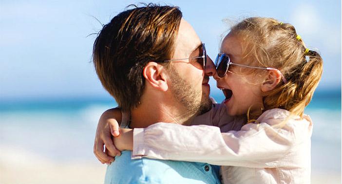 filha gosta do pai