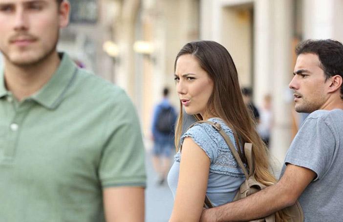 Minha esposa está interessada em outro homem