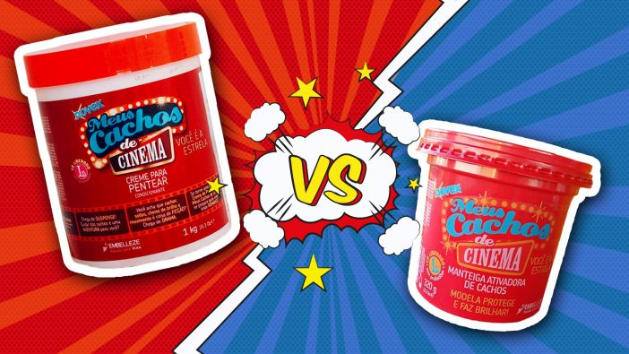 Qual é a diferença entre Manteiga e Creme de Pentear? - Novex Meus Cachos de Cinema